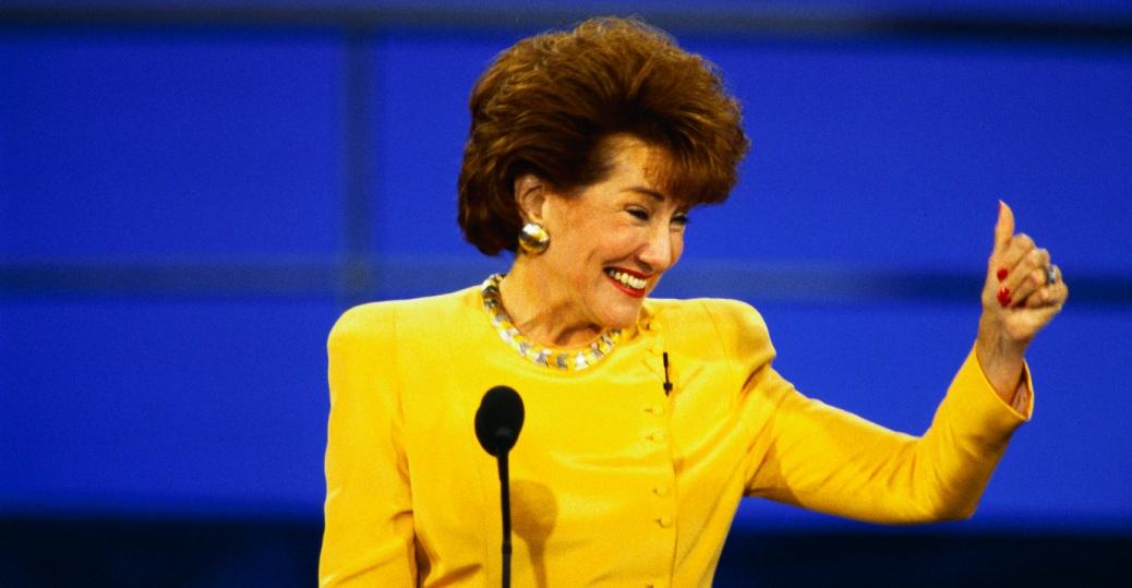 elizabeth dole, north carolina, first female senator, secretary of transportation, president ronald reagan, secretary of labor, president george bush, women leaders, women's history