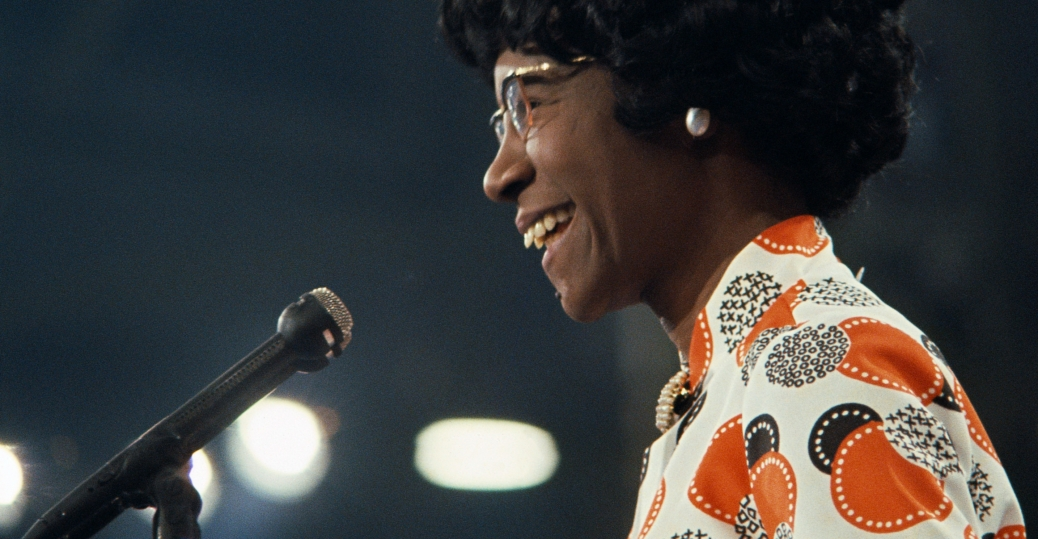 shirley chisholm, first african american candidate for a major-party presidential nomination, women leaders, women's history