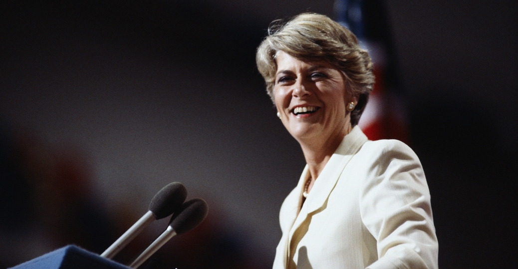 1984, geraldine ferraro, first woman to run for vice president of the united states, women leaders, women's history