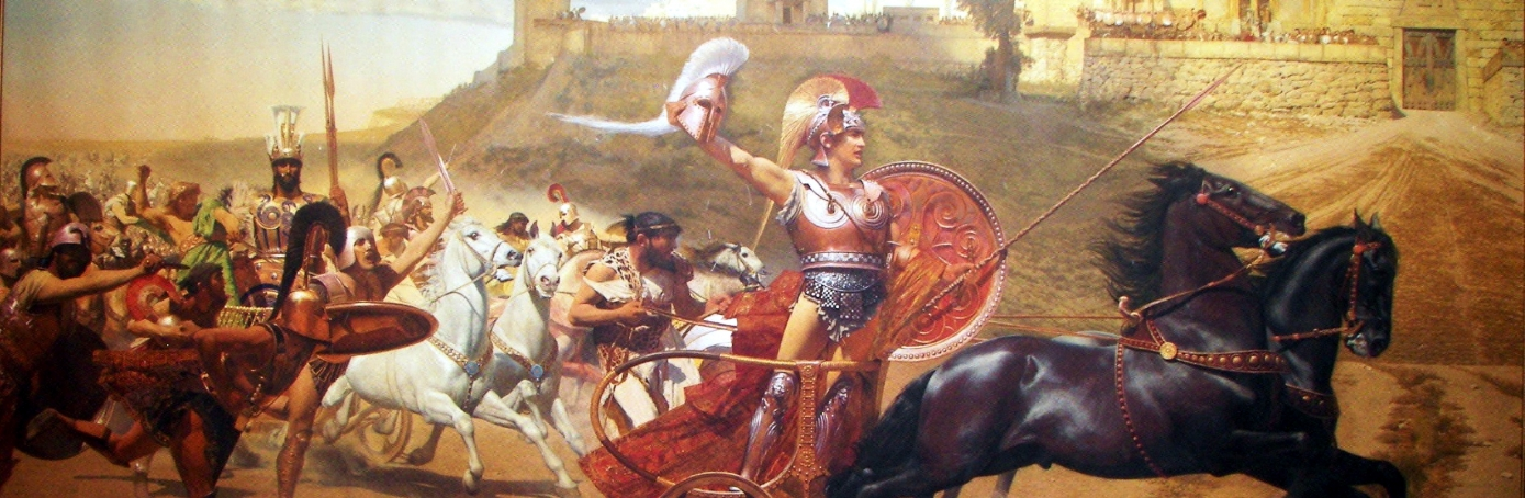 a report on the character of achilles in the iliad The many characters of the iliad are prof james armstrong reports that the poem's formulae yield as in achilles' rejection of the embassy in iliad.