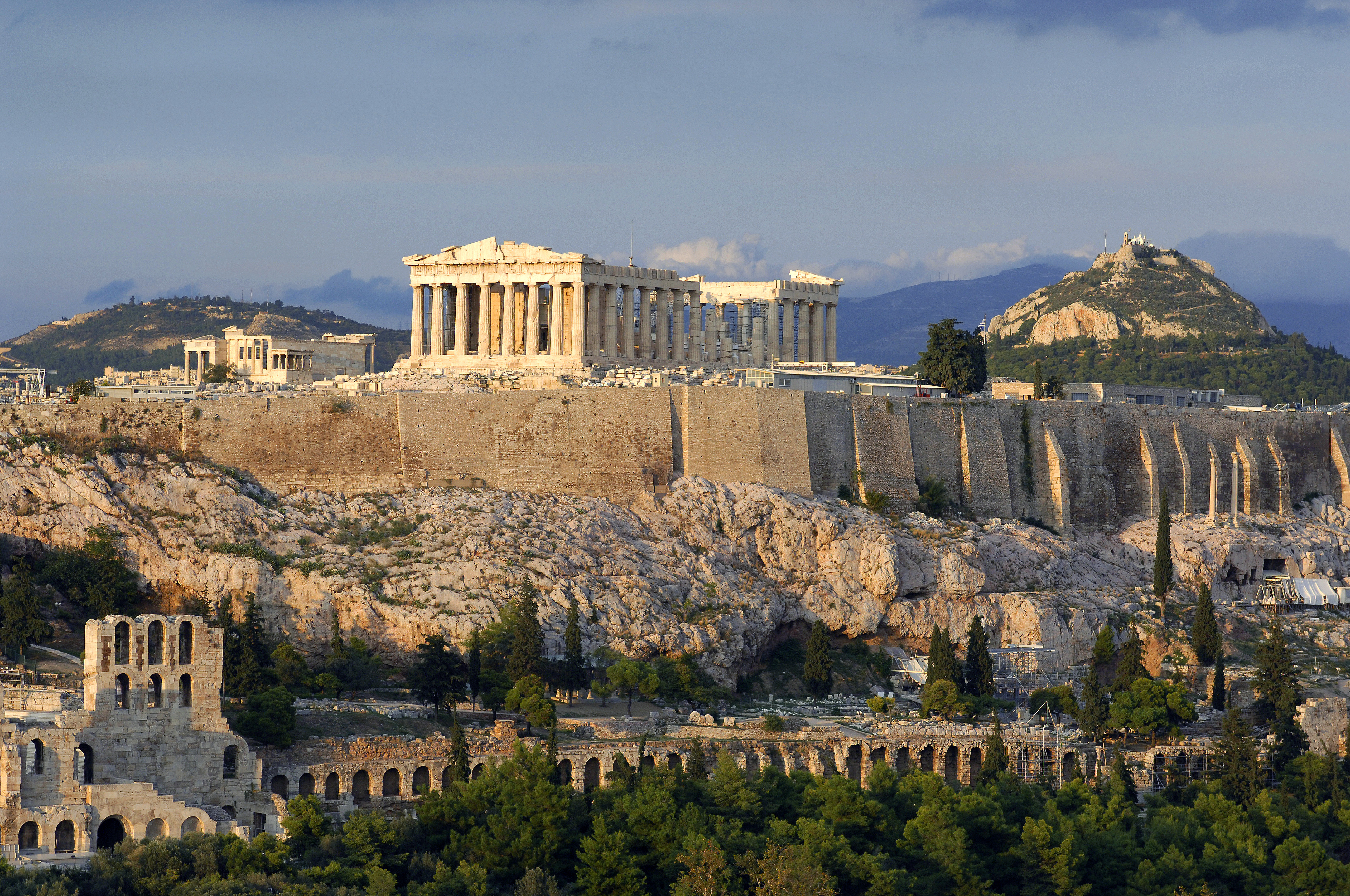 an introduction to the history of the athenian acropolis Introduction the parthenon initiated the periclean building program on the athenian acropolis yet considering its long history of use.