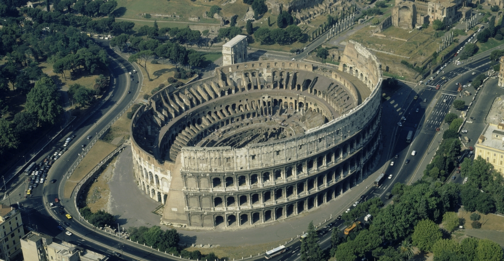 the colosseum, rome, AD 70-72, roman architecture, ancient rome