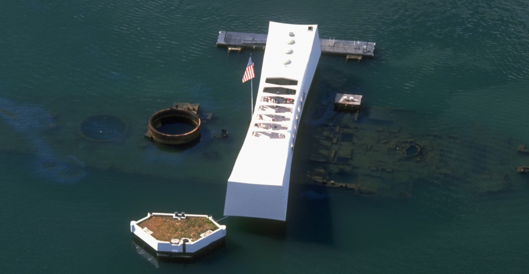 uss arizona, uss arizona memorial, pearl harbor, world war II