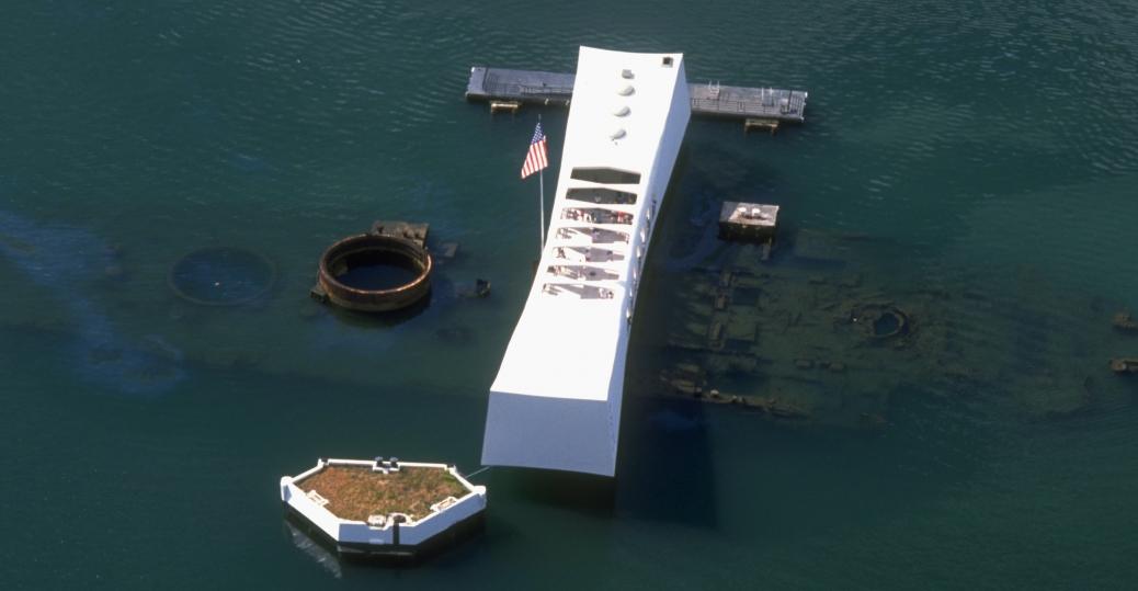 uss arizona, uss arizona memorial, pearl harbor, world war II