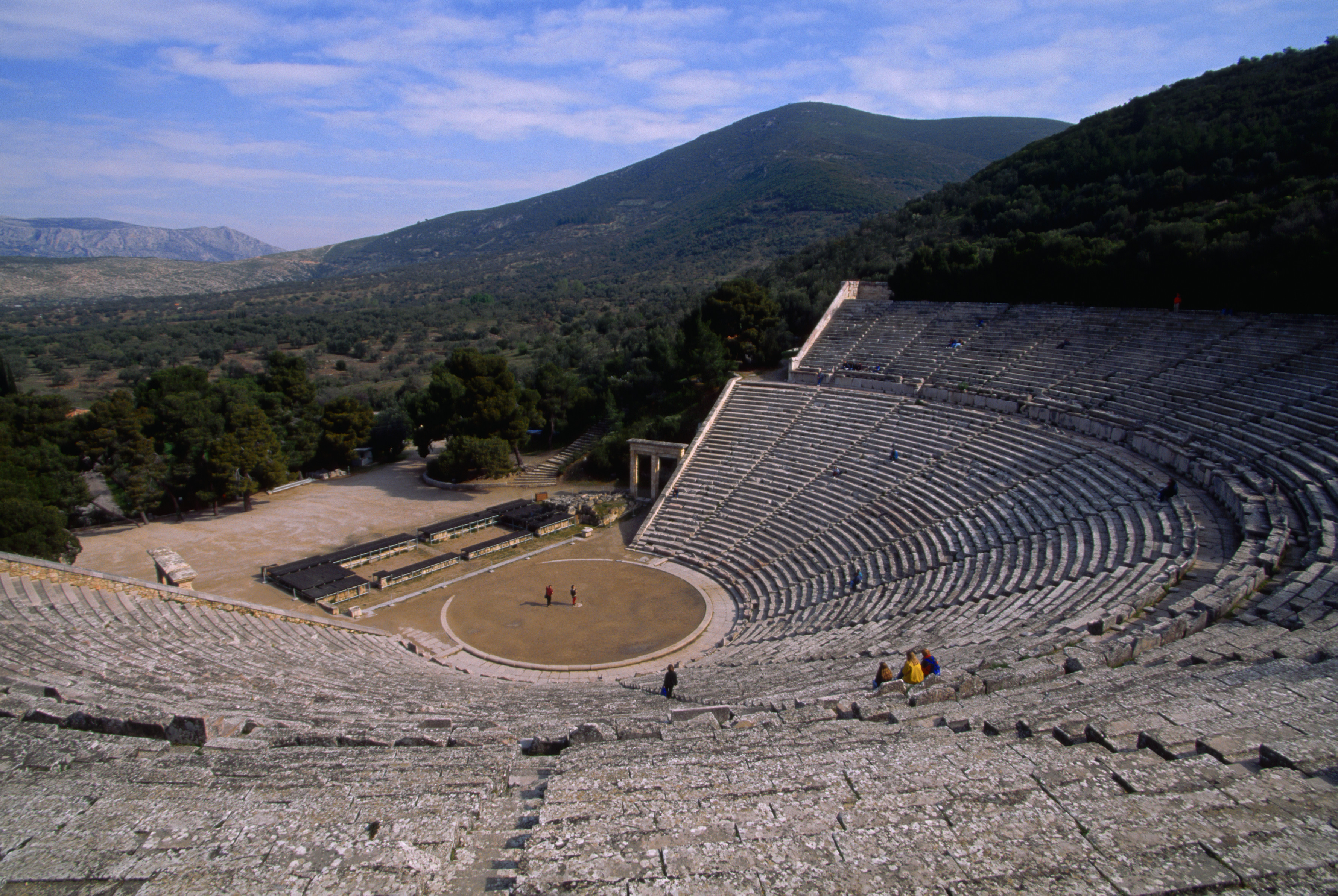 the theatre of ancient greece and rome
