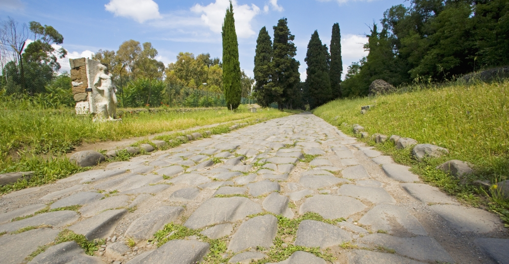 appian way, 312 BCE, rome, southeast italy, main road, ancient rome, roman architecture and engineering