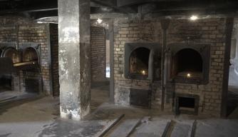 cremationovenroomatauschwitz holocaust concentration