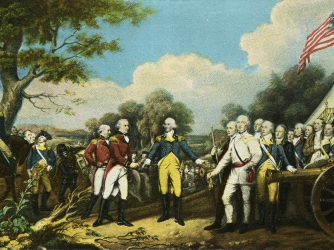 the battle of saratoga, john burgoyne, british general, american general, horatio gates, the american revolution, key military figures