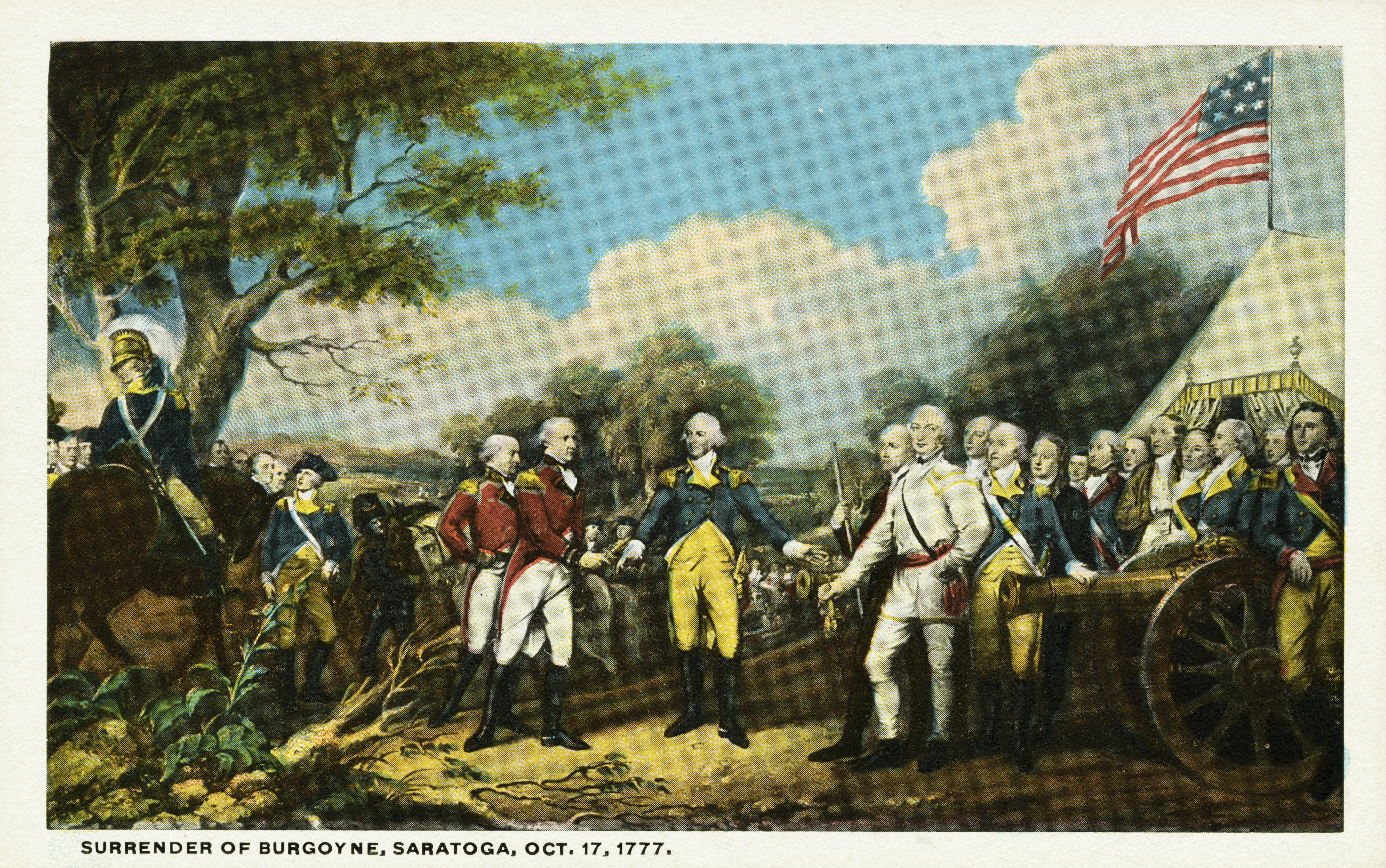postcard-5 - American Revolution: Key Military Figures Pictures ...