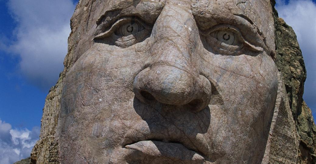 crazy horse memorial, the black hills, south dakota, oglala lakota warrior, native american leader, native americans, native american tribes and cultures