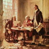 benjamin franklin, john adams, thomas jefferson, the declaration of independence, the american revolution, continental congress