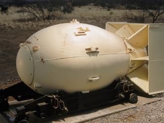 atomic bomb, nagasaki, fat man atomic bomb, plutonium-implosion bomb, world war II