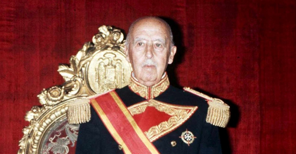 spanish general, francisco franco, spanish civil war, 1938, 1975, world war II, axis military leaders