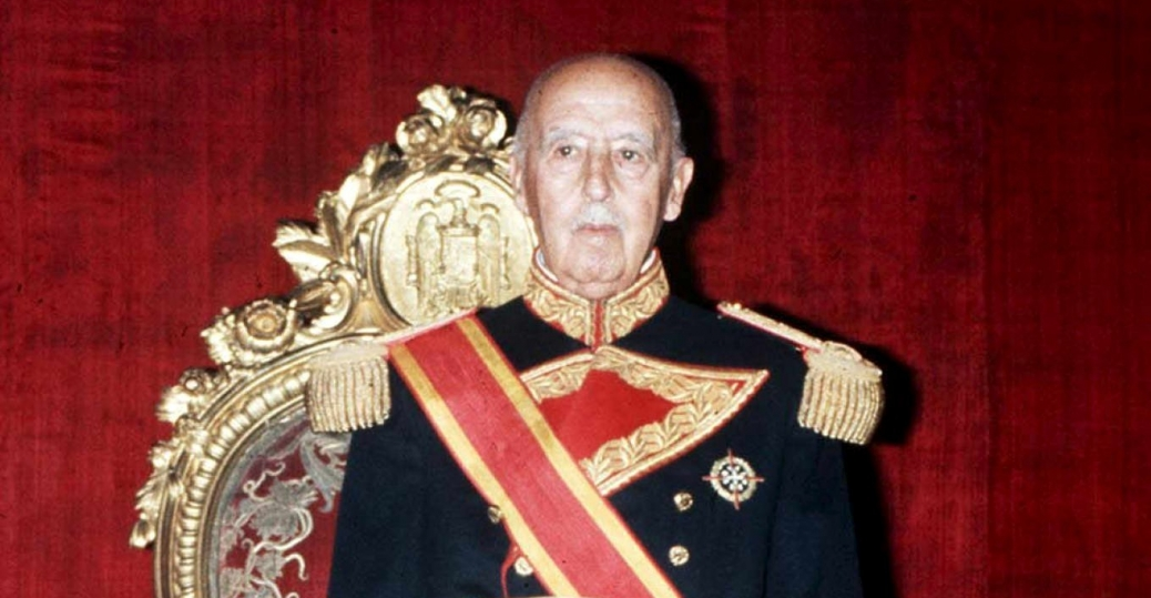 1975, spanish general, francisco franco, spanish civil war, 1938, world war II, political leaders