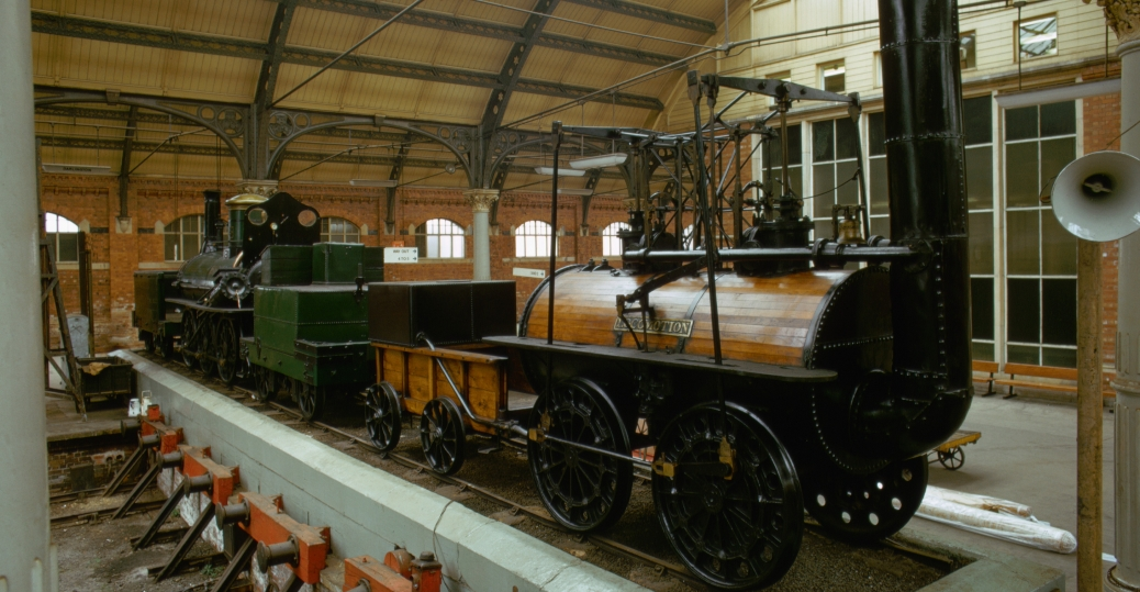 1820s, engineer, george stephenson, steam powered railway line, the steam engine, the industrial revolution, inventions, transportation, the father of the railways