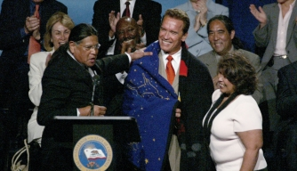 california governor, arnold schwarzenegger, native american tribal leaders, economic and environmental protections, american indian casinos, native americans, native american legislation, gaming compact