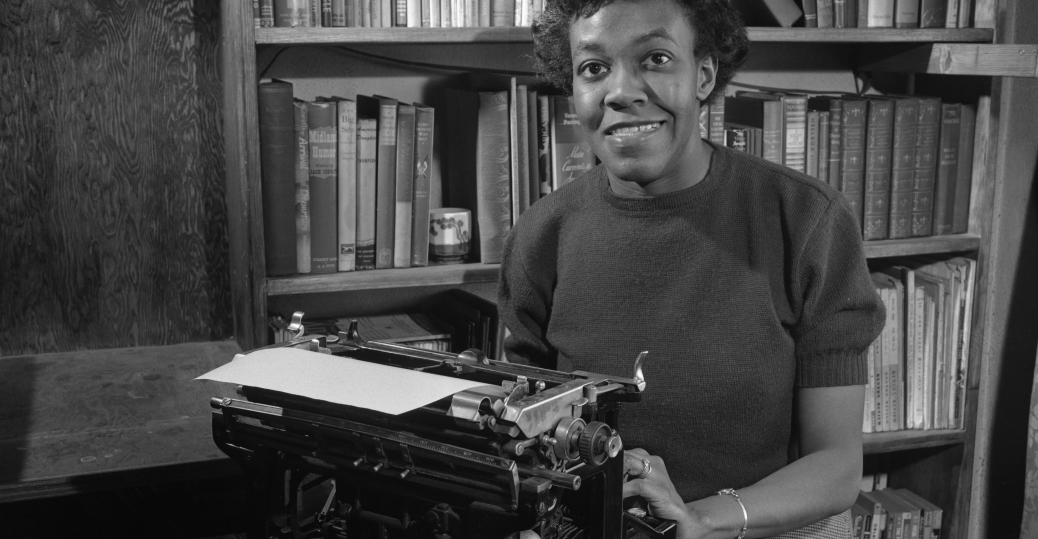 gwendolyn brooks, pulitzer prize, 1949, poem, poetry, annie allen, first african american pulitzer prize winner, black history, black women authors, celebrated authors