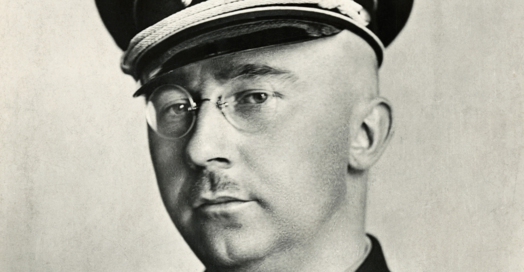 heinrich himmler, german national socialist politician, nazi, military commander, nazi secret police, third reich's first concentration camp, extermination camps, poland, world war II, axis military leaders