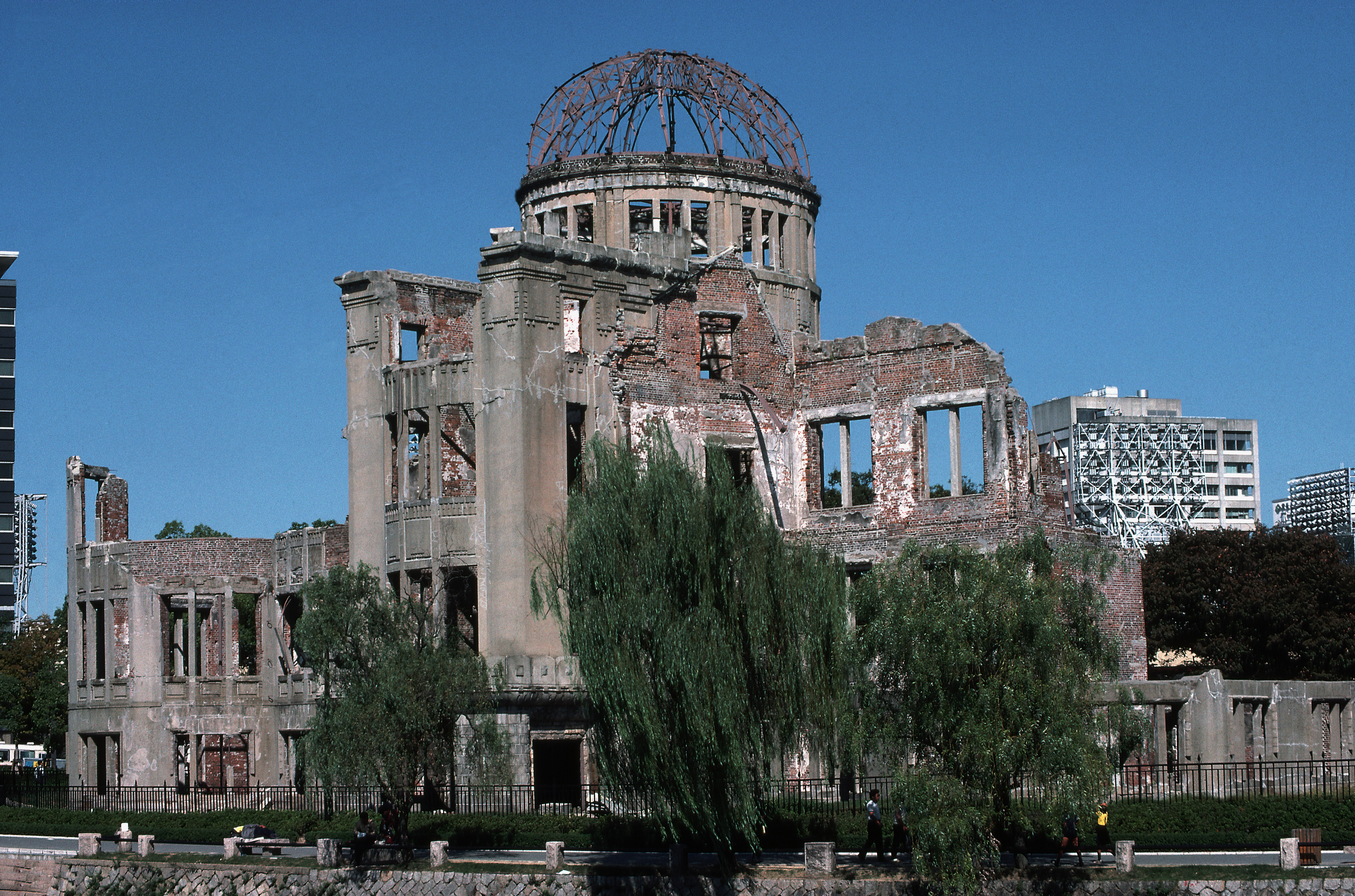 "hiroshima and nagasaki day Hiroshima, japan — president obama laid a wreath at the hiroshima peace memorial on friday, telling an audience that included survivors of america's atomic bombing in 1945 that technology as devastating as nuclear arms demands a ""moral revolution"" thousands of japanese lined the route of."