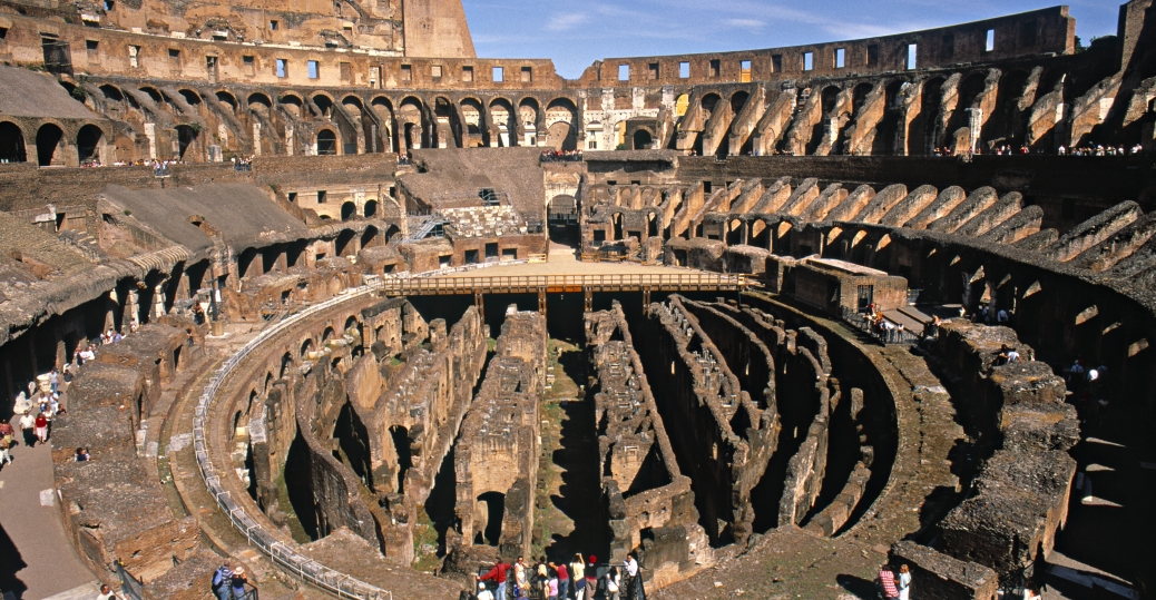 The Colosseum, Rome, AD 70 72, Roman Architecture, Ancient Rome,