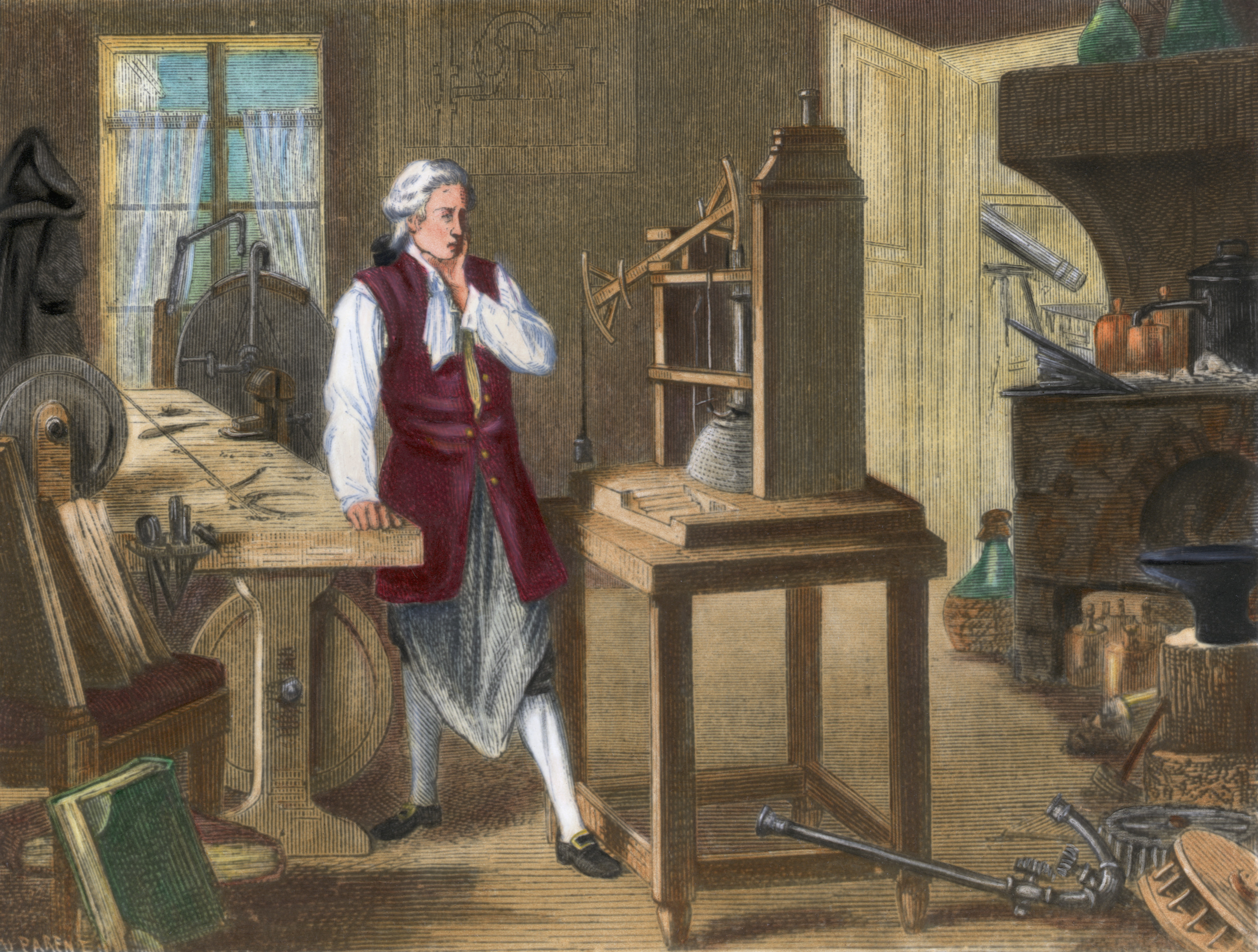 james watt visionary of the industrial He is crucial to both the industrial revolution and the watt, however, was a all readers of the site are invited to let us know of any james watt related.