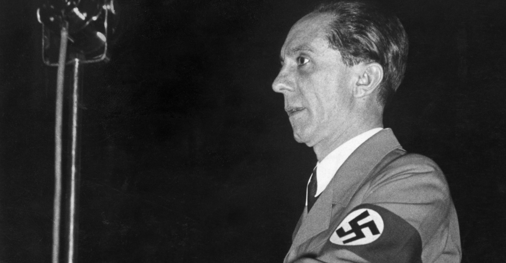dr. joseph goebbels, joseph goebbels, german socialist convention, berlin, 1937, world war II, axis military leaders