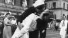 times square, new york city, 1945, japan's surrender, end of world war II, world war II, kissing the war goodbye