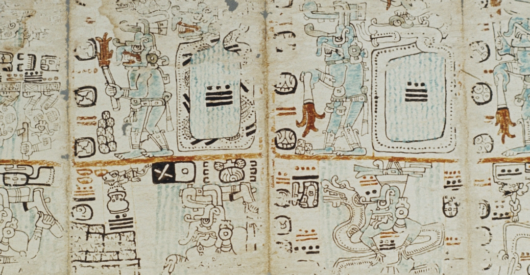 codex tro-cortesiano, madrid codex, AD 1400, mayan calendrical practices, mayan astrological practices, mayan religious practices, mesoamerican pyramids, latin america