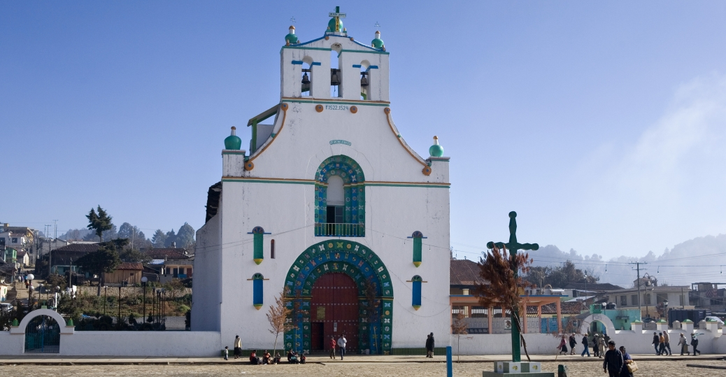 san juan chamula church, san cristobal de las casas, chiapas, mexico