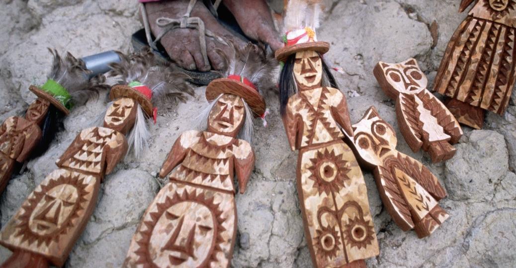 tarahumara, wooden dolls, cavehouse, chihuahua, mexico
