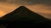 mexican fire volcano, colima, mexico