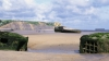 normandy, france, world war II, d-day, gold beach, allied wreckage