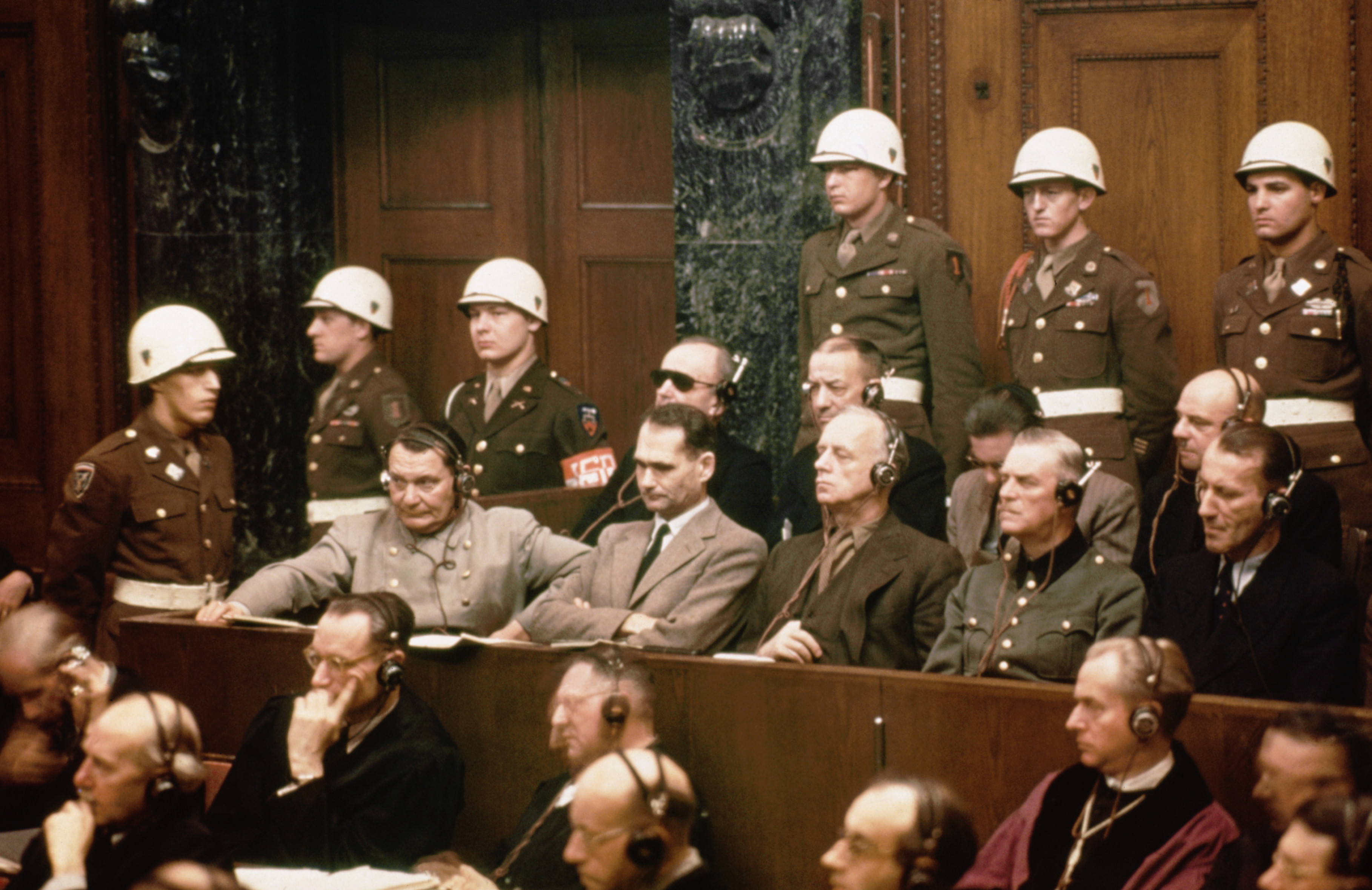 Image result for Nuremberg trials begin 1945 images