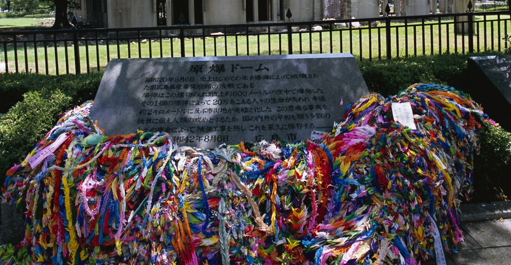 children's peace memorial, paper cranes, hiroshima, hiroshima memorial, world war II, world war II bombings