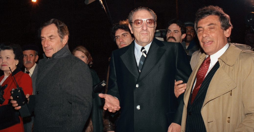 Paul Castellano Out On Bail Italian American Mafia