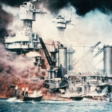 pearl harbor, 1941, japanese military, u.s. naval base, world war II, battleships