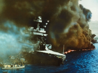 uss california, pearl harbor, pearl harbor attack, bombing, world war II