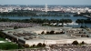 the pentagon, potomac river, washington monument, september 11th attacks