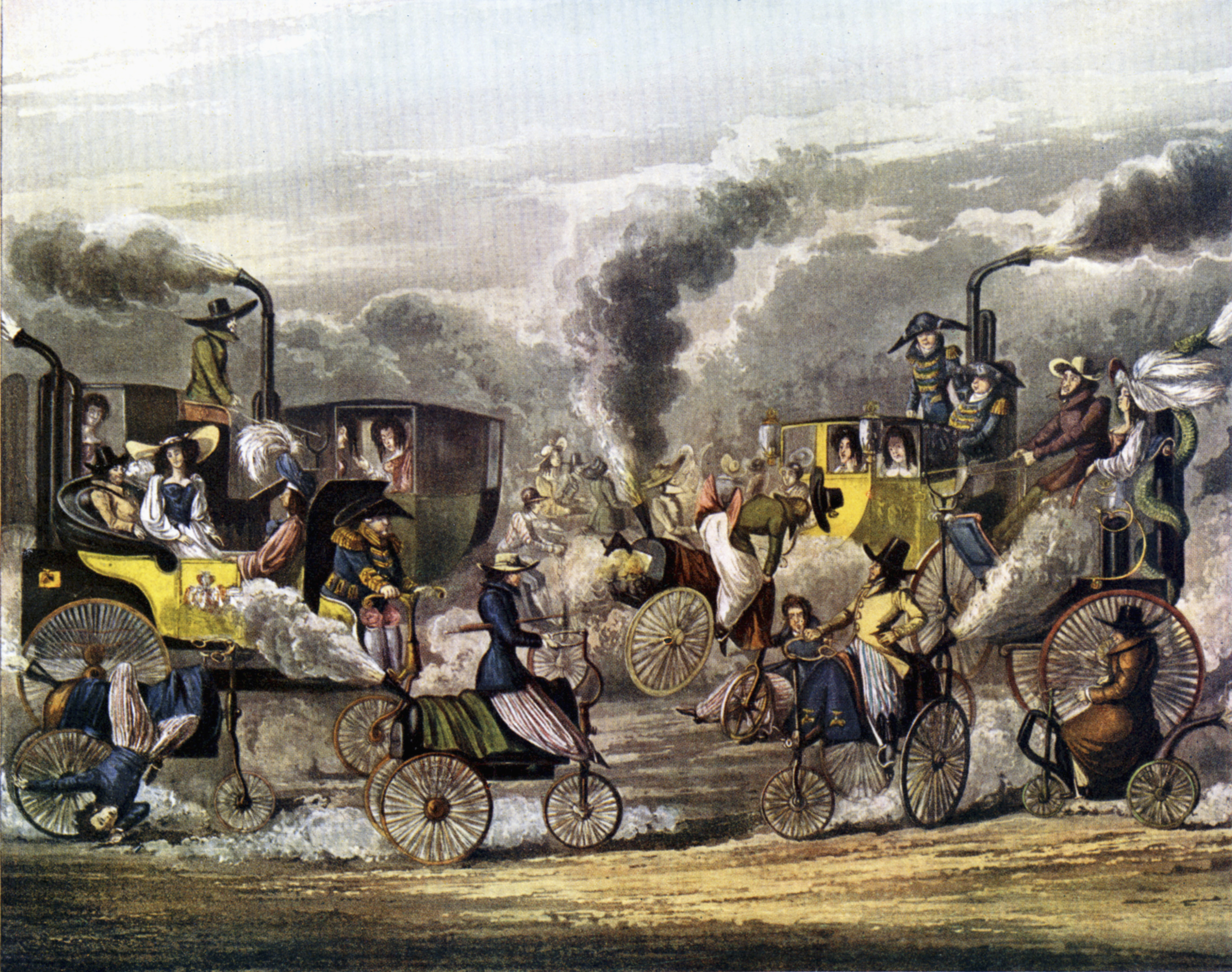 transport revolution Free essay: the transport revolution until late in the 1700's, in both europe and america, most roads were either rough tracks created by hoof and wheel or.