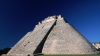 pyramid of the magician, rounded sides, mayan city, uxmal, mexico, latin america, mesoamerican pyramids, yucatan peninsula