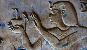 Egyptian Relief Sculpture and Paintings