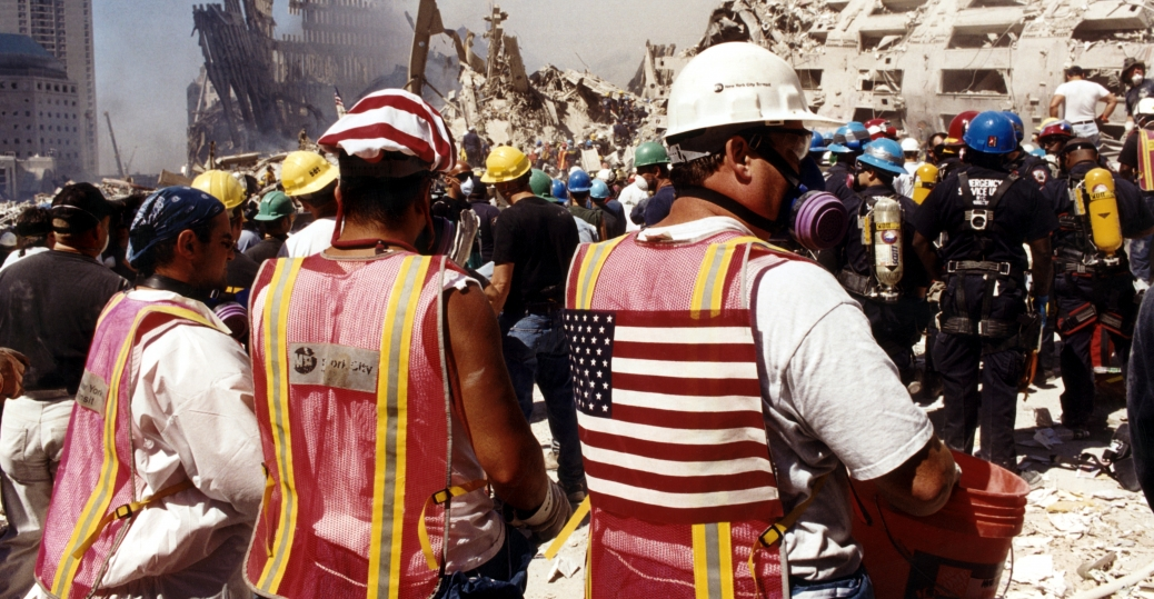 the world trade center, september 11, 2001, september 11th attacks, terrorist attacks, the twin towers, the world trade center debris, ground zero, mta workers, rescue and recovery efforts