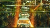 ford motor plant, 1990s, robots, assembly line, welding, the industrial revolution, industrial inventions