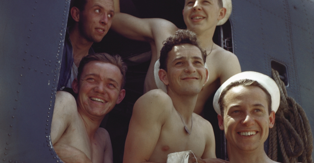 sailors, world war II, american sailors