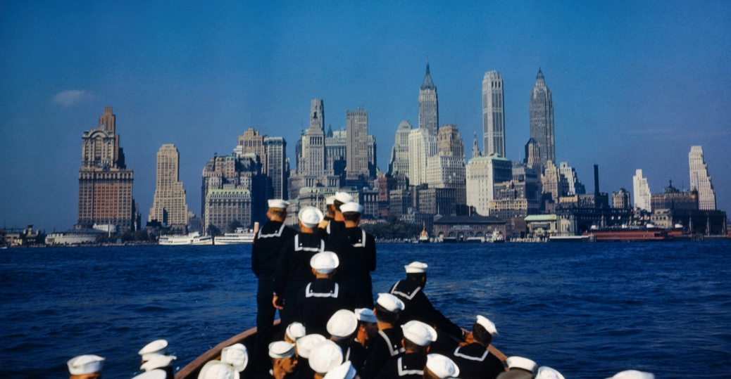 world war II, sailors, uss north carolina, new york city