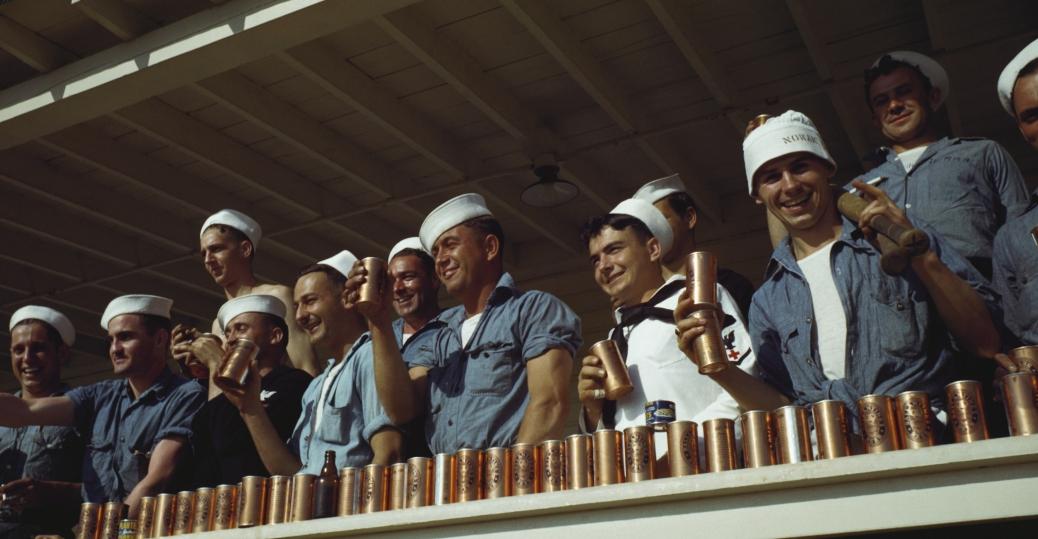 world war II, sailors