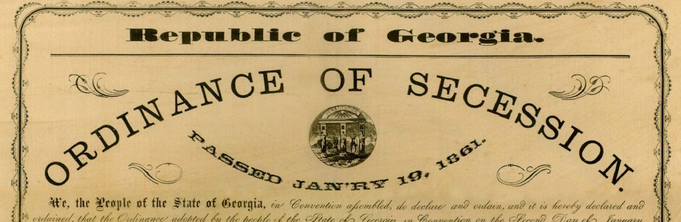 what caused secession Did the south secede over slavery  it has become fashionable in recent years for civil war revisionists to claim that southern secession was unrelated to slavery.