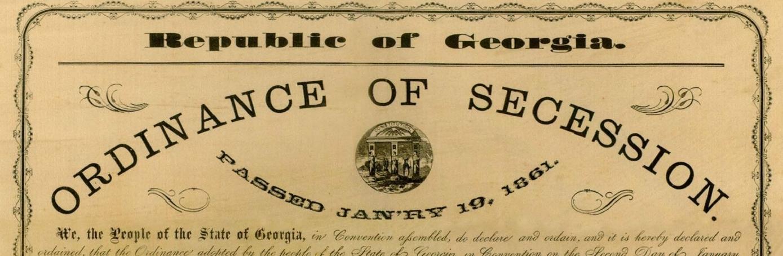 Secession American Civil War HISTORYcom - Us map dates of secession