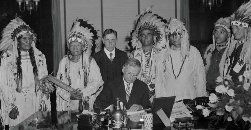 secretary of the interior, native americans, native american legislation, harold ickes, confederate tribes, the flathead indian reservation, montana, north american indian tribe constitution, indian reorganization act