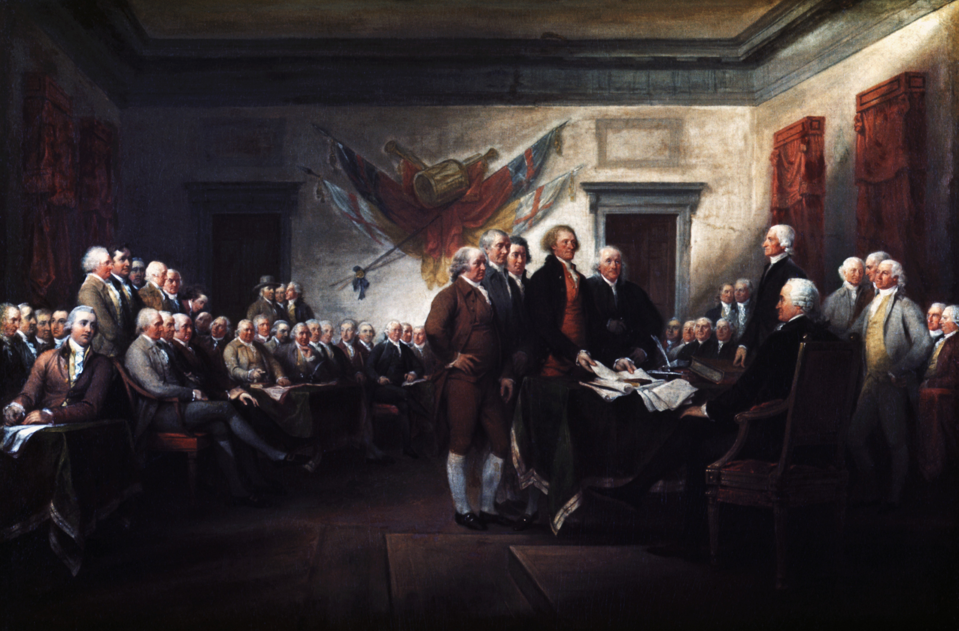 america has not been living up to the five ideals expressed in the declaration of independence